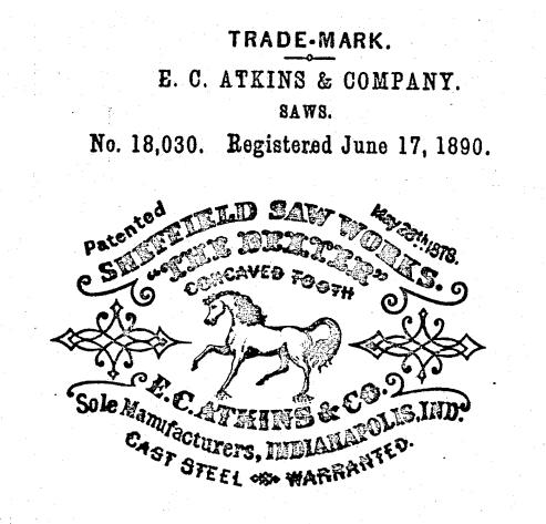 Another E. C. Atkins trademark