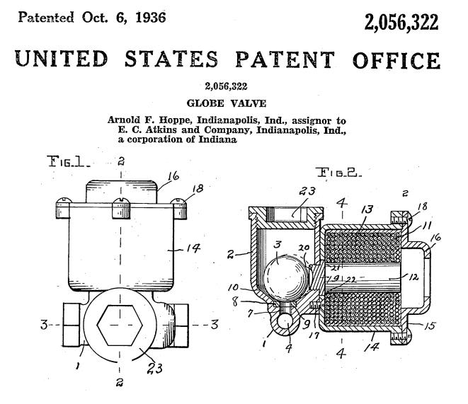 Another Unexpected E. C. Atkins Patent.
