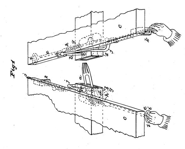 Laroy Starrett's Non-tool Patent