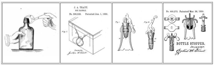Justus Traut's Non-tool Patents